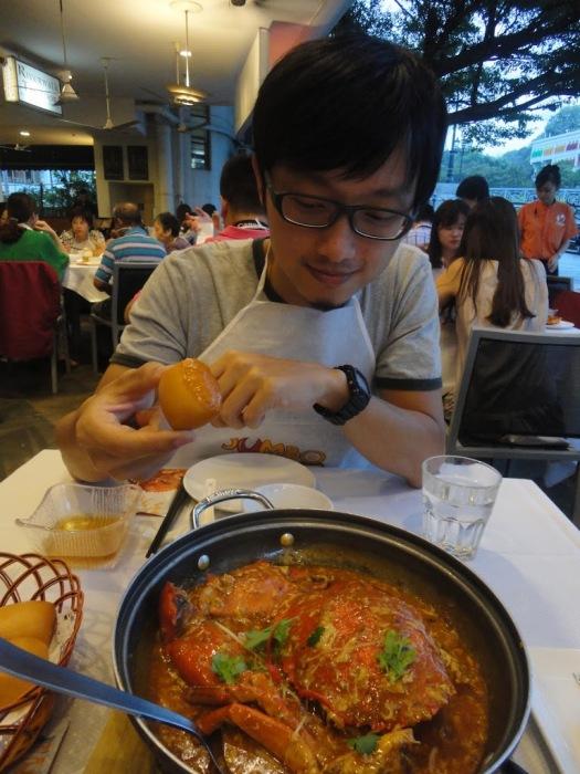 珍寶海鮮的螃蟹餐→→→→→→→→爆好吃!!!