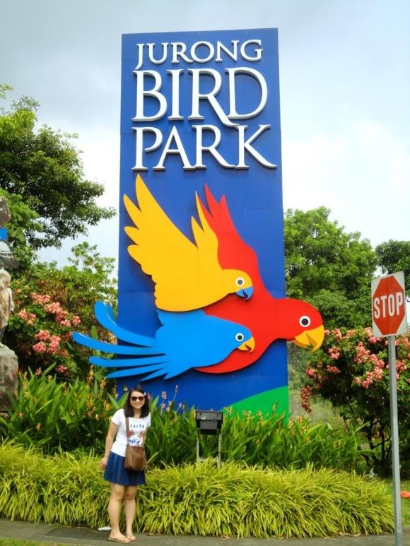 Bird Park 入口。 Bird Park 可以逛一整天。