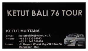 Ketut Murtana, ketutbali76@yahoo.co.id