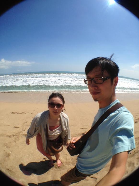 第三日 highlight 就給(熱到)超給力的 Kuta 海灘