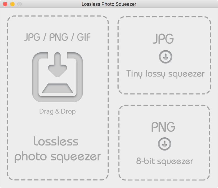Lossless Photo Squeezer